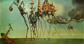 1-the-temptation-surreal-painting-by-salvador-dali