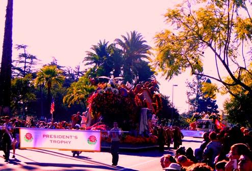 Armenian Float at Rose Parade