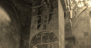 Inside Monastery of Mt. Varak by Fr. Vazken Movsesian
