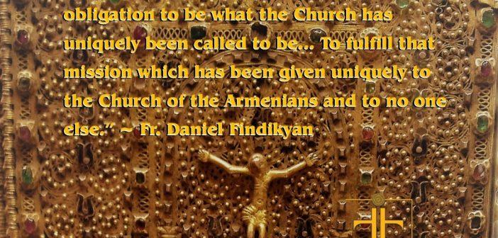 Fr. Daniel Findikyan Interview